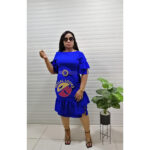 royal blue dresss
