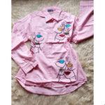 Pink longsleeve shirt
