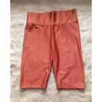 burnt orange bikers short