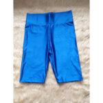 royal blue bikers short